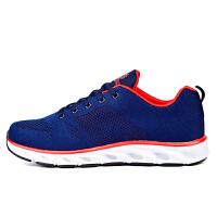 金贝勒春季情侣跑步鞋飞织透气跑步鞋 男女士赤脚跑鞋缓震竞技跑鞋