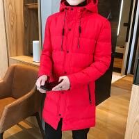 冬季新款棉衣男中长款立领保暖男士夹克外套潮男羽绒棉服棉袄风衣