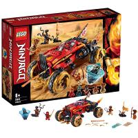 【当当自营】LEGO乐高 幻影忍者系列 70675 凯的武士刀战车