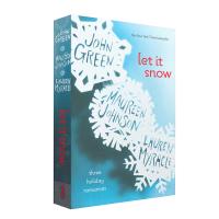 进口英文原版 现货【英文原版】 雪,就这样落 Let It Snow: Three Holiday Romances 灰