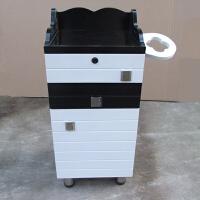 不锈钢台面美发工具车理发工具柜发廊工具推车 35x30x80cm 官方标配
