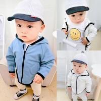 婴儿外套3-6-12个月百天男女宝宝潮款上衣2017韩版儿童春秋