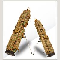 渔具包 钓鱼包 鱼竿包钓鱼包1.2/1.25米两三层钓鱼包防水竿包杆包