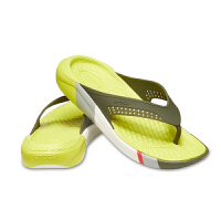 Crocs卡骆驰男女鞋LiteRide撞色人字拖凉鞋厚底夹脚拖鞋I205625LiteRide撞色人字拖