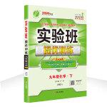 实验班提优训练 初中 化学 九年级 (下) 沪教版SHJY 春雨教育・2020春