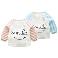 女婴儿衣服1岁3个月男宝宝加厚保暖外套新生儿外出厚棉衣