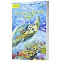 大堡礁在哪里英文版原版 Where is the Great Barrier Reef? 英文原版儿童桥梁章节书 中小