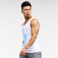 夏季运动背心男宽松跑步紧身T恤弹力无袖透气篮球速干衣健身背心