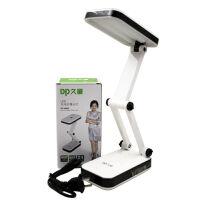 台灯包邮久量 DP-666S 充电式LED折叠学生柔光板台灯 24灯 800毫安