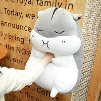 可爱仓鼠公仔布娃娃玩偶睡觉暖手抱枕韩国毛绒玩具女生礼物搞怪萌