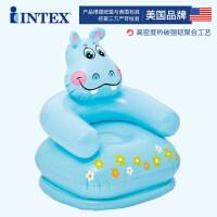 充气沙发儿童座椅宝宝便携式安靠背坐椅凳子小孩新品