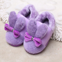 棉拖鞋包跟棉鞋小童中童防滑宝宝男童女孩保暖居家拖鞋子鞋