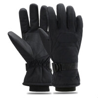 专业滑雪手套男 女士户外运动骑行防水防风保暖防滑加绒加厚