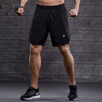 运动短裤男跑步速干户外五分裤5宽松短弹训练健身篮球裤过膝
