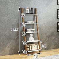 书架客厅梯形置物架实木靠墙卧室花架落地墙角储物架层架墙壁搁板