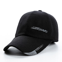中年棒球帽保暖防寒潮女士老年加长帽檐鸭舌帽男士加厚帽子