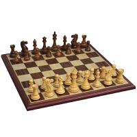 象棋花梨木黄杨木象棋木制棋子套装比赛象棋4591