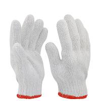 劳保线手套600/700/800/900g棉纱手套批发防滑耐磨加厚工作防护
