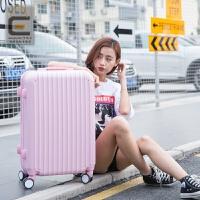 20180513010231786撞色万向轮拉杆箱20寸糖果色小清新行李箱女韩版学生24密码旅行箱 20寸