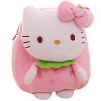 可爱hello kitty女婴儿童小书包幼儿园卡通玩具背包宝宝包包1-3岁