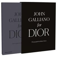 John Galliano for Dior 约翰加利亚诺时期的迪奥服装设计作品集 英文原版服装设计书籍