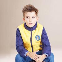 TAGA 冬装新款童装男童棉衣中大童棉袄棉服外套