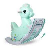 儿童摇马 1-3岁宝宝木马厚大号塑料摇摇马玩具