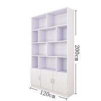 书柜书架展示柜货柜组合落地大书柜置物架办公收纳架展示柜子酒柜 0.6米以下宽