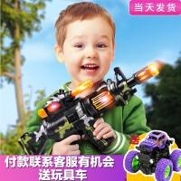 儿童小男孩子宝宝军人电动枪声光音乐仿真带声音冲锋抢2-3岁玩具