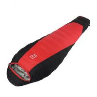 羽绒睡袋户外加厚成人负35度1800克羽绒睡袋白鸭绒可拼接睡袋