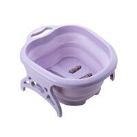 【新品特惠】足浴盆脚底按摩盆家用可折叠脚盆便携式泡脚洗脚桶过小腿塑料