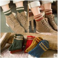女子可爱秋冬季复古堆堆袜子女棉袜礼盒保暖中筒