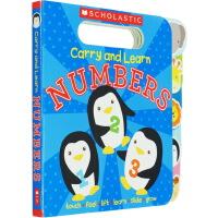 【英文原版 】Carry and Learn Numbers 儿童认知启蒙纸板书