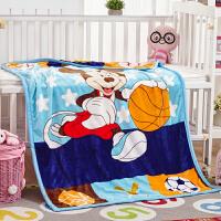 加厚双层珊瑚绒毯子夏季办公室盖毯婴儿童午睡毯单人毛巾被小毛毯