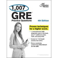 1,007 GRE Practice Questions,4th Edition【英文原版】普林斯顿1007套GRE考