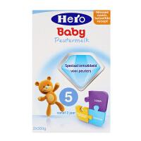 【当当海外购】荷兰HeroBaby本土美素 婴幼儿奶粉5段(2周岁以上宝宝)700g 日期新鲜