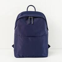 双肩包背包女休闲笔记本电脑包苹果联想华硕13.3寸14英寸商务手提SN9493