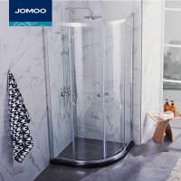 【限时直降】JOMOO九牧整体浴室 钢化玻璃淋浴房 弧形淋浴房 M312/M412