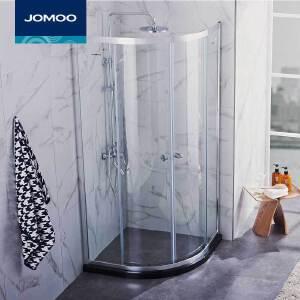 【每满100减50元】JOMOO九牧整体浴室 钢化玻璃淋浴房 弧形淋浴房 M312/M412