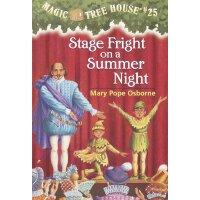 神奇树屋 英文原版 Magic Tree House #25: Stage Fright on a Summer Nig