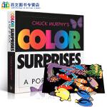 顺丰发货 英文原版进口图书 Color Surprises Pop-up Book 色彩主题立体书 4-8岁儿童阅读玩