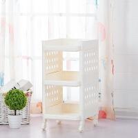【新品特惠】浴室多层卫生间整理架储物架厨房置物架室内可移动塑料收纳架层架