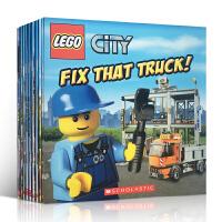 英文原版绘本 Lego City 乐高城市系列14本套装 图画书 原版儿童书 4-8岁小孩阅读绘本 平装大开本