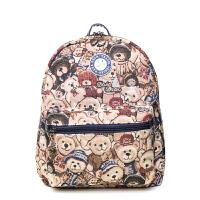 双色可选 正品大咖熊小熊背包女包双肩包学生包休闲书包潮