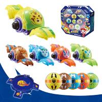 猪猪侠之竞球小英雄决竞球变身摩陀螺玩具豪华套装正版变形收纳球