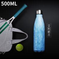 保温杯男士女不锈钢空便携创意运动水壶杯子可乐瓶水杯新品