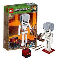【当当自营】乐高LEGO 我的世界系列 21150 骷髅和岩浆怪