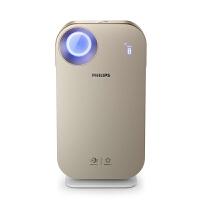 飞利浦(PHILIPS)空气净化器 家用 办公室 除甲醛 除雾霾 PM2.5 过敏原 智能手机控制 AC4556金色