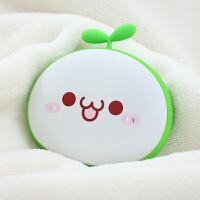 长草颜团子暖手宝USB充电防爆移动电源充电宝热水袋暖宝宝保暖防护便携送女友生日
