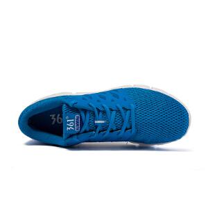 【折上1件5折 2件4折】361度男子简洁百搭穿着舒适常规跑步鞋